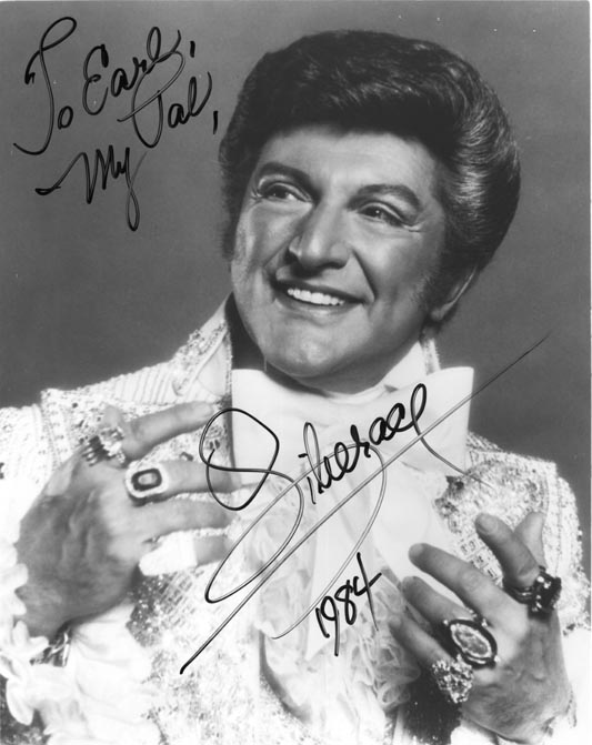 Liberace passing as straight